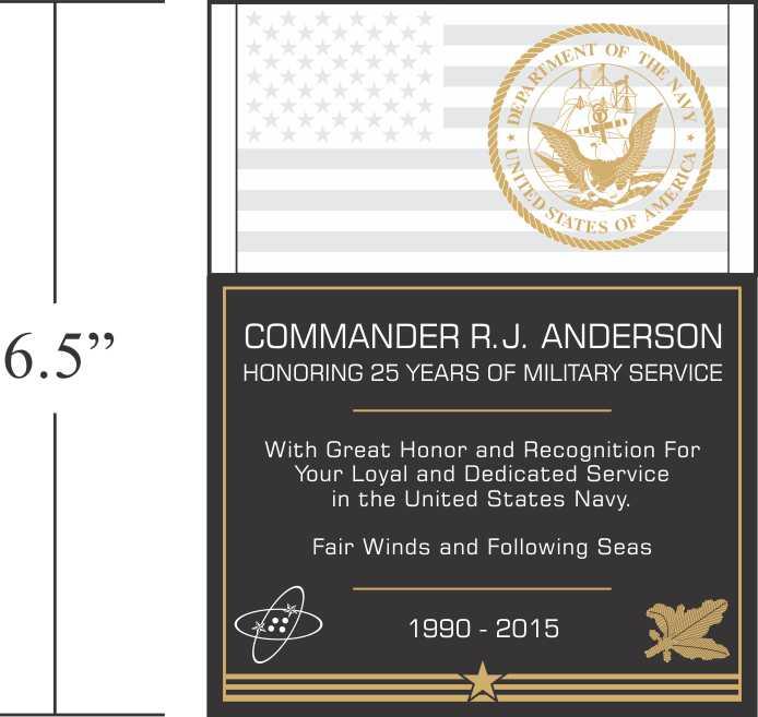 military plaque quotes quotesgram