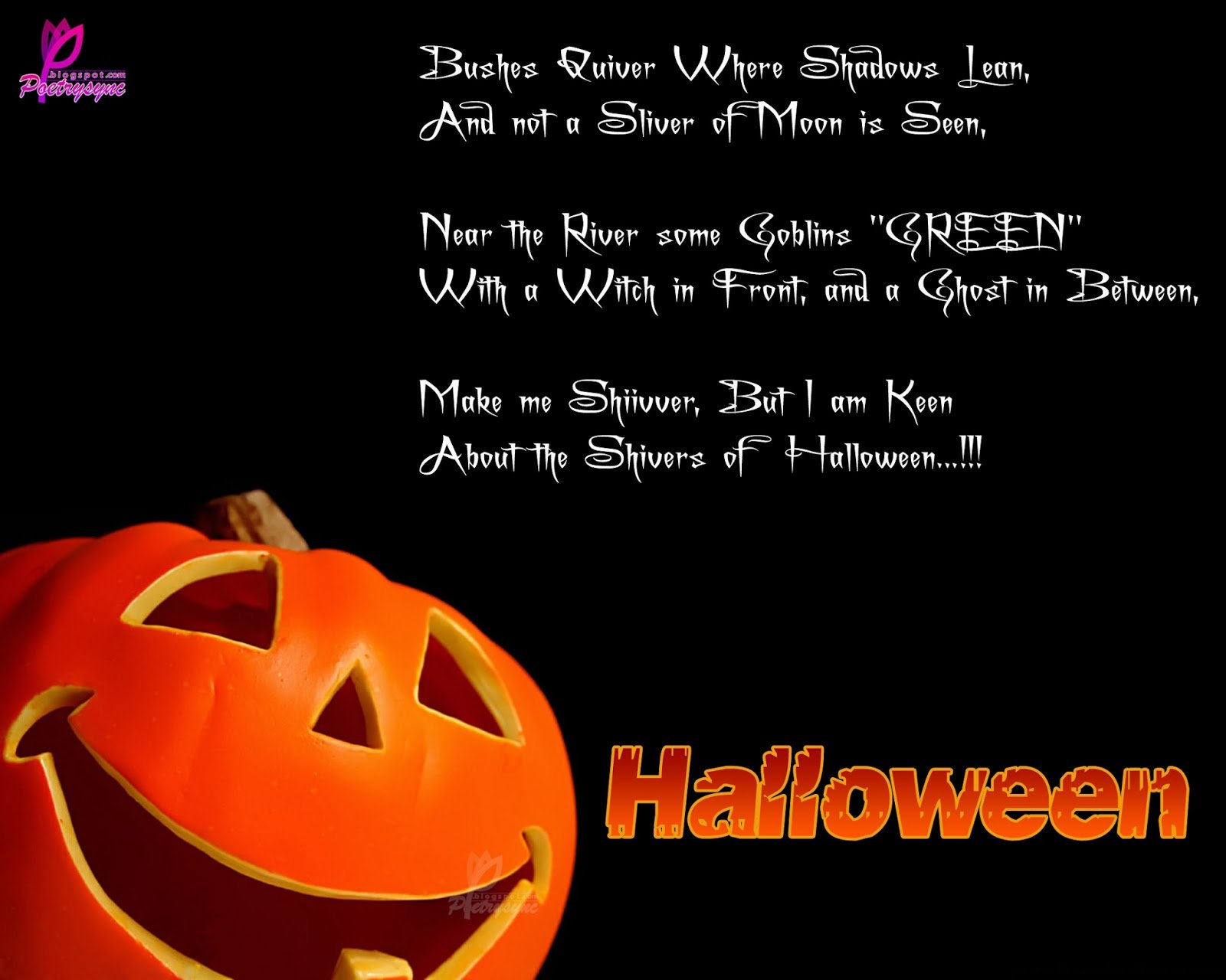 Good Morning One Word Or Two : Scary halloween sayings and quotes quotesgram