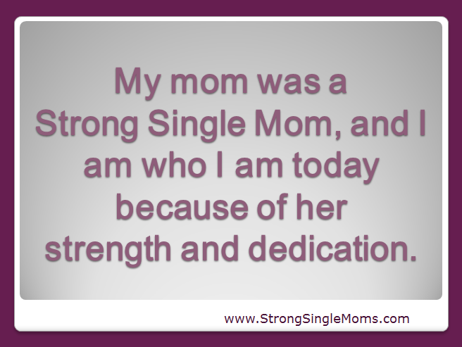 Essay About Single Mom