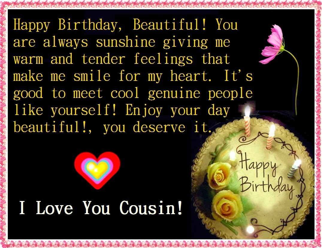 I Love You Cousin Quotes. QuotesGram
