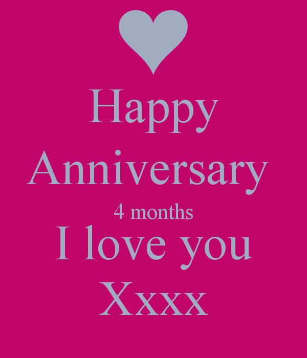 Anniversary Quotes Quotesgram: 4 Month Anniversary Quotes. QuotesGram
