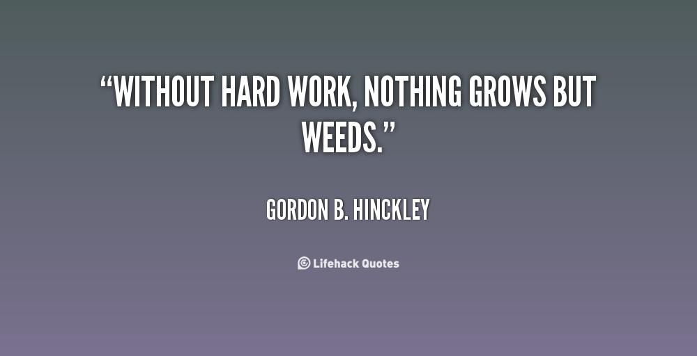 Hard Work Quotes. QuotesGram