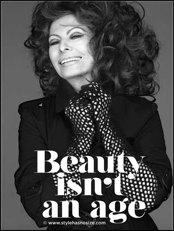 Sophia Loren On Beauty...