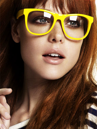 Girl With Glasses Quotes Quotesgram