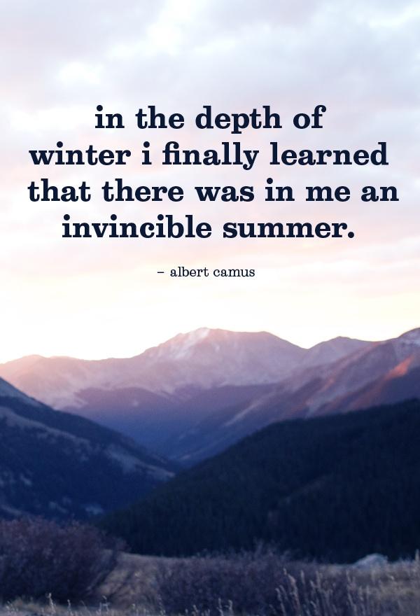 Quotes Albert Camus Invincible Summer. QuotesGram