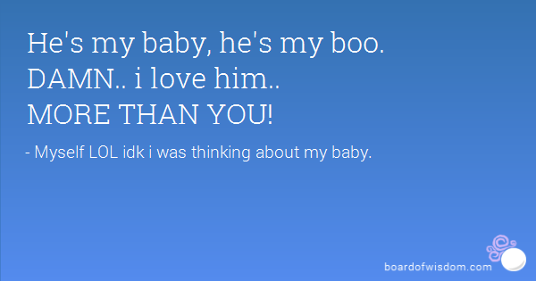 I Love You Quotes: Baby Boo Quotes. QuotesGram