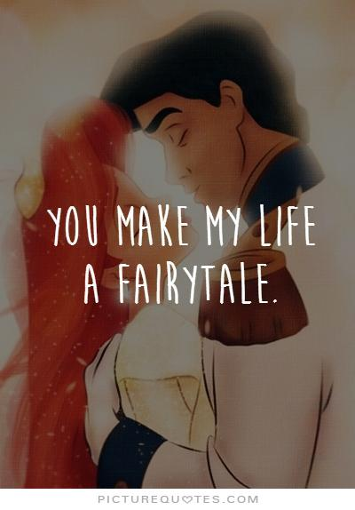 Life Is Not A Fairy Tale Quotes. QuotesGram