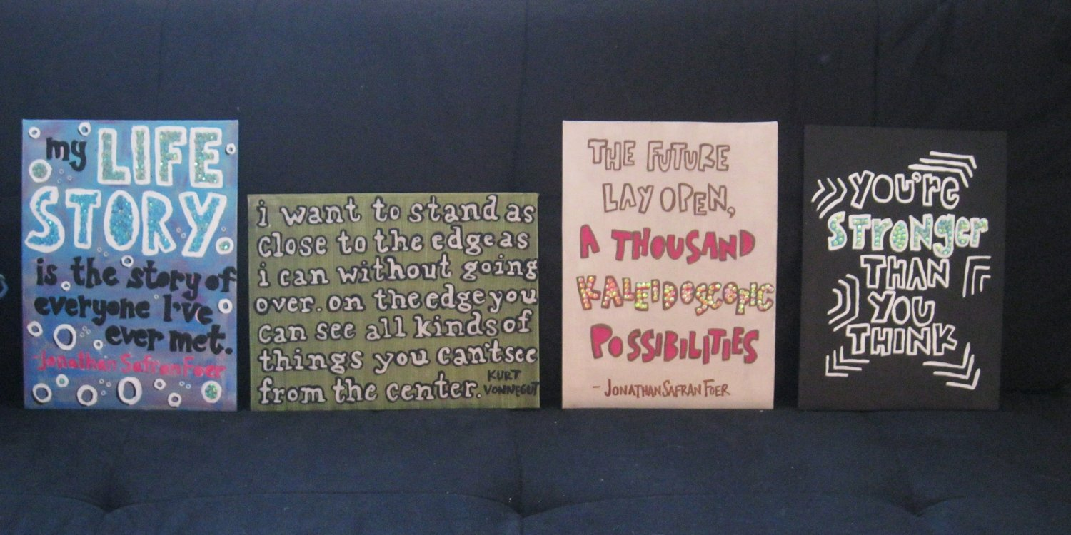 Painting with friends quotes quotesgram for Inspirational quotes painted on canvas