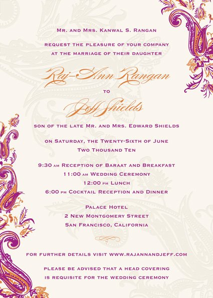 indian wedding invitations wording examples indian wedding invitation quotes quotesgram 28035