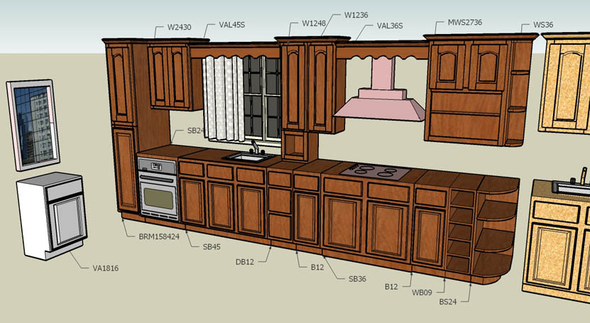 Kitchen cabinet quotes quotesgram for Best kitchen cabinet layout