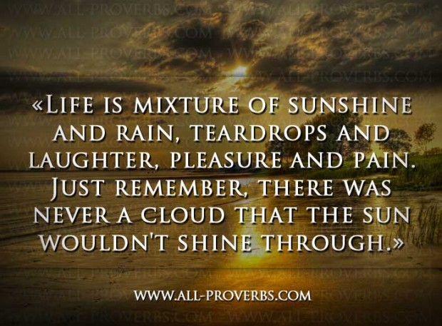 Sun And Rain Quotes. QuotesGram Quotes About Sunshine And Rain