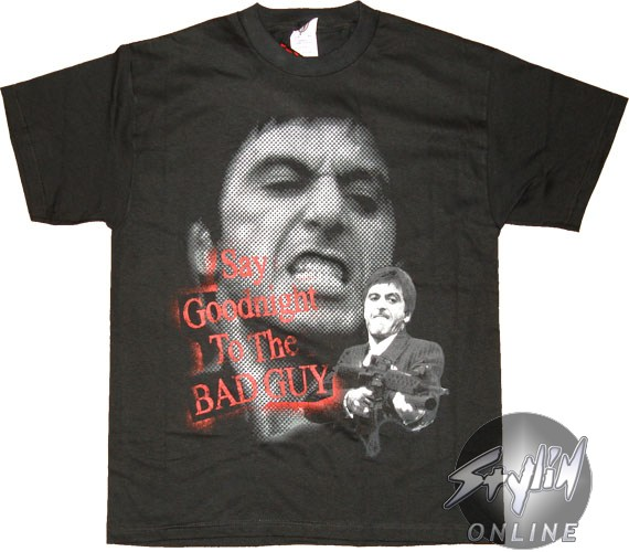 Scarface Say Goodnight To The Bad Guy Quotes. QuotesGram | 570 x 500 jpeg 55kB