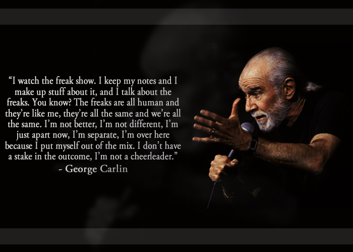 George Carlin Quote On The Ten Commandments: George Carlin Quotes Government. QuotesGram