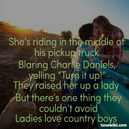 Country Girl Quotes About Guys. QuotesGram