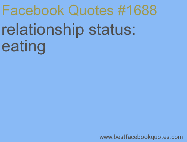 unsure about relationship status facebook