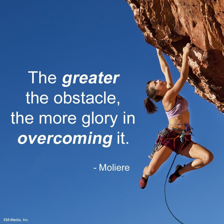 Women who overcome obstacles