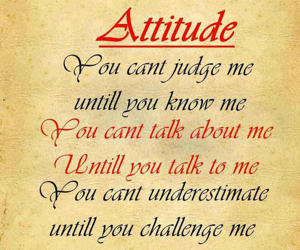 Quotes On Love And Attitude: Rude Attitude Quotes. QuotesGram