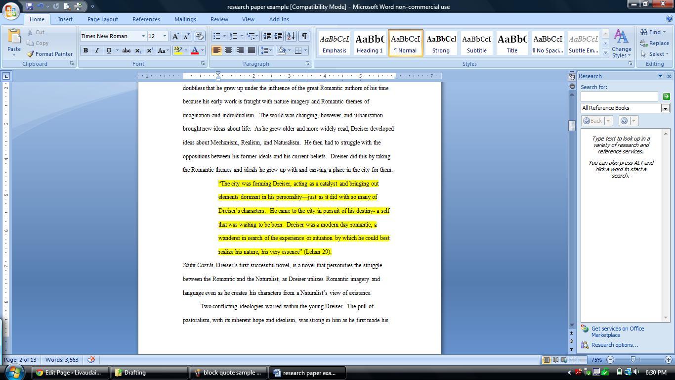Putting quotes in essays mla format
