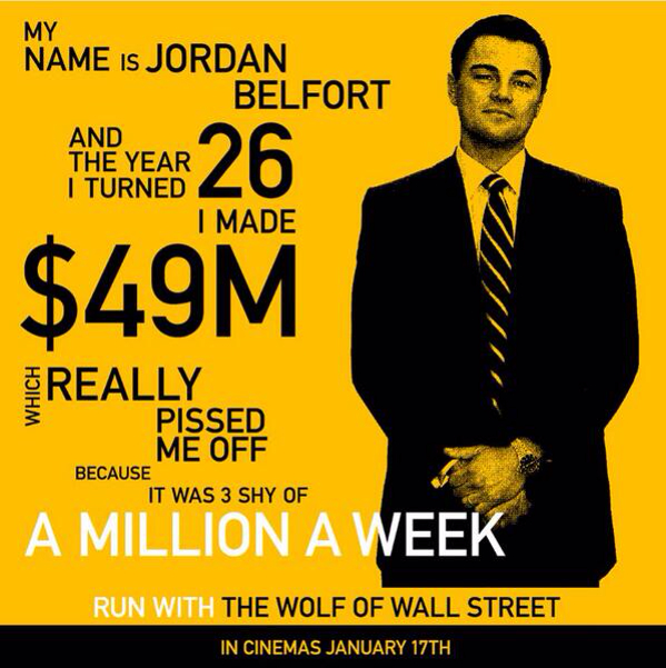 Wolf Of Wall Street Quotes. QuotesGram