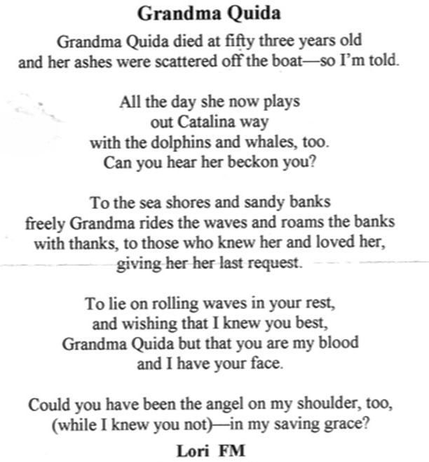 Inspirational Quotes About Death Of A Grandmother: Sad Quotes About Losing Your Grandmother. QuotesGram