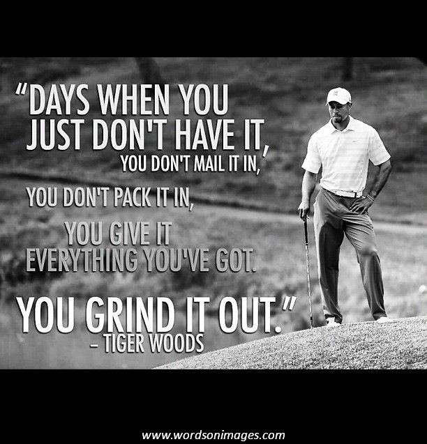 Golf Quotes From Movies: Tiger Woods Famous Quotes. QuotesGram
