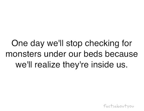 Monster Within Quotes. QuotesGram