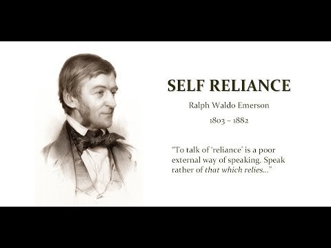 thoreau self reliance essay In ralph waldo emerson's essay self reliance and henry david thoreau's essay resistance to civil government (civil disobedience), both transcendentalist thinkers speak about being individual and what reforms and changes need to be made in society ralph waldo emerson and his disciple, henry david thoreau.