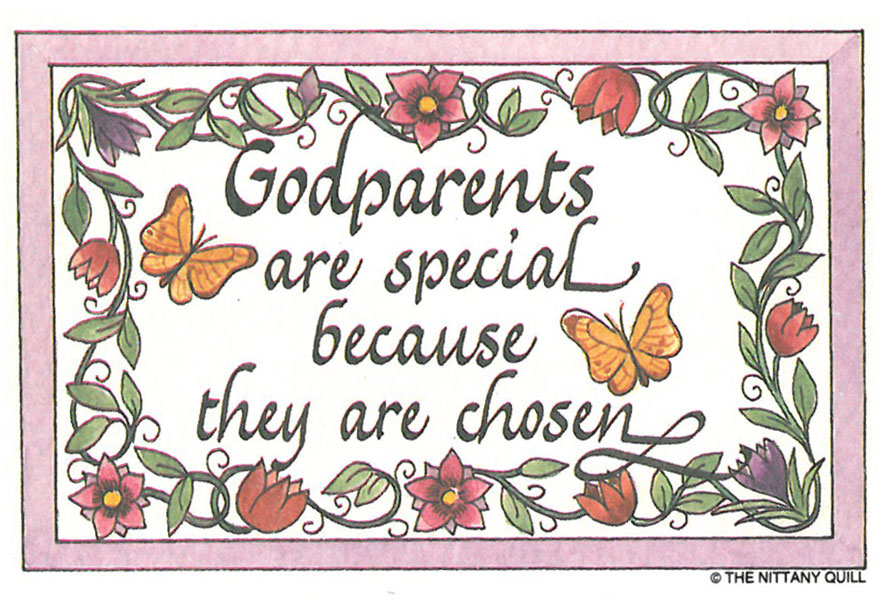 Inspirational Quotes About Godparents. QuotesGram