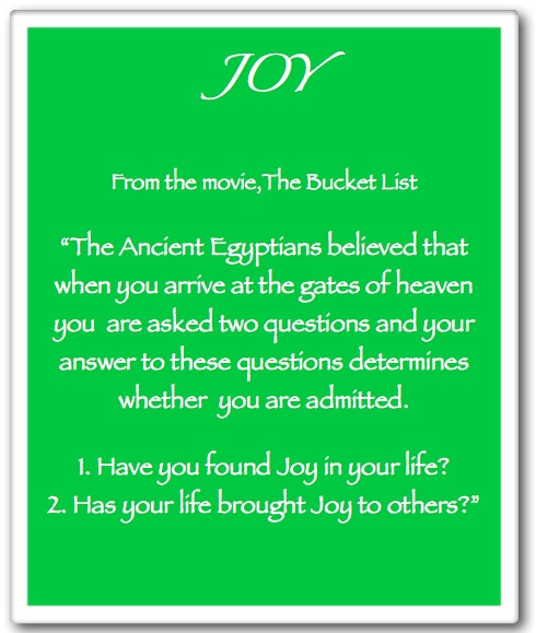 List Of Quotes: Joy Bucket List Quotes. QuotesGram
