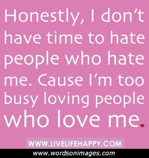 Love Hate Quotes: Love Haters Quotes Or Sayings Pictures