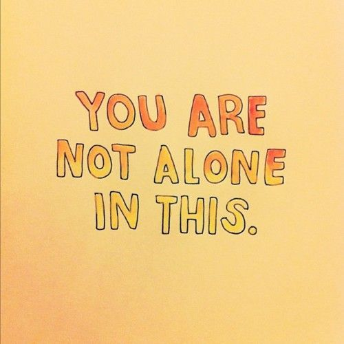 You Re Not In This Alone What Columbine: You Are Not Alone Quotes. QuotesGram