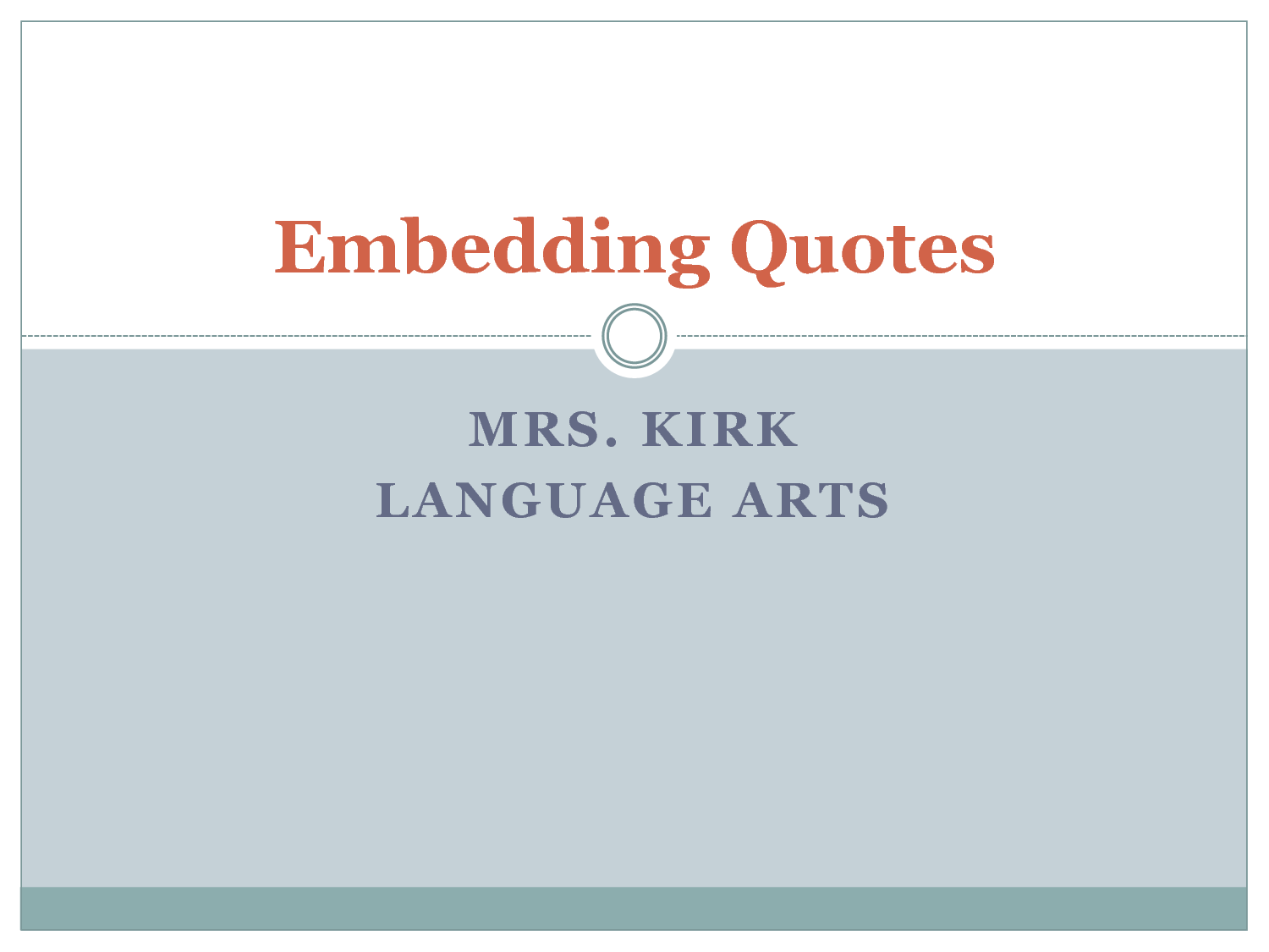 Embed quotes essay