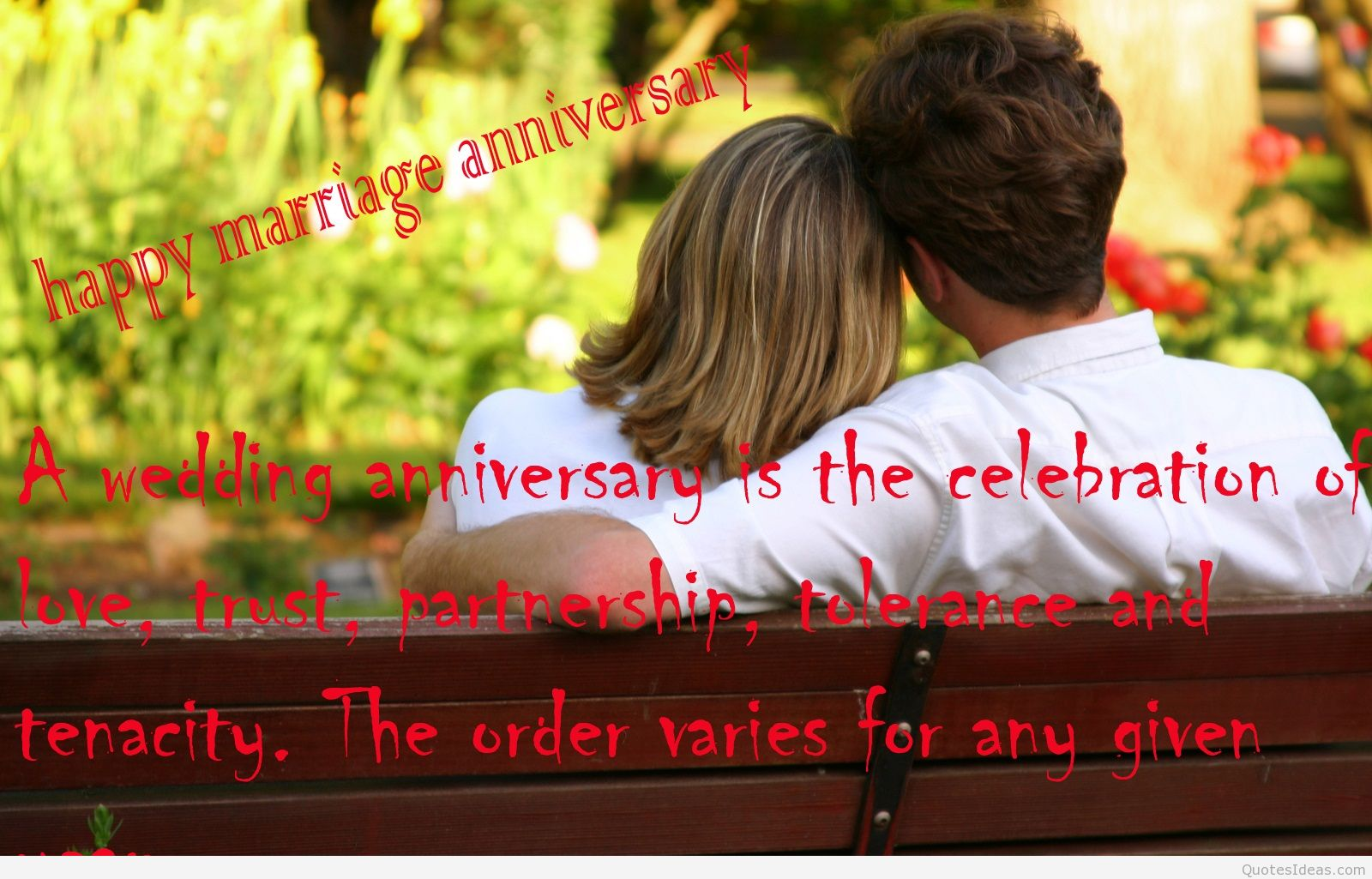 Awesome Quotes Happy Anniversary To Couple. QuotesGram
