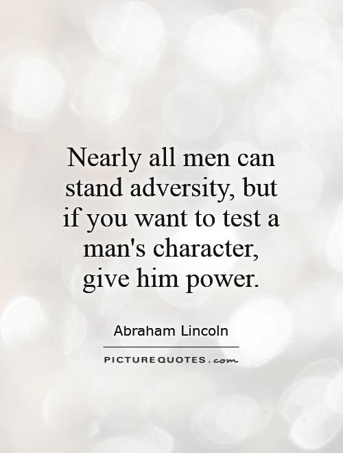 Quotes About A Mans Character. QuotesGram