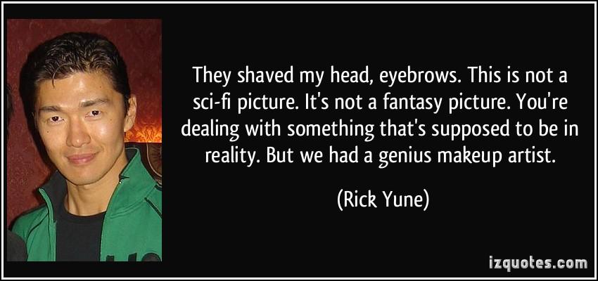 Rick ta life shaved head
