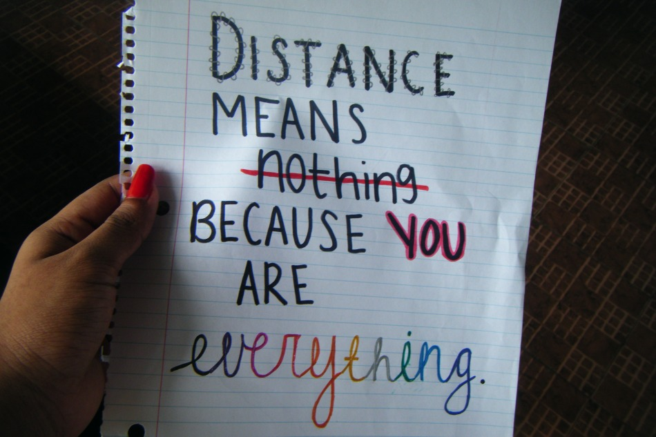 Quotes That Mean Nothing: Distance Means Nothing Quotes. QuotesGram