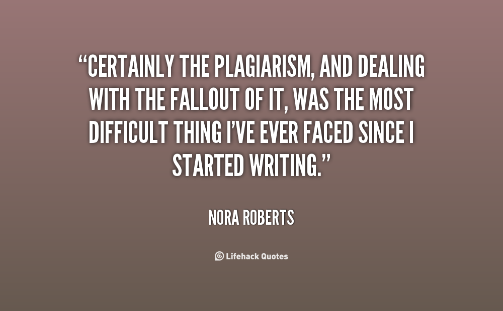 Famous Plagiarism Quotes Quotesgram