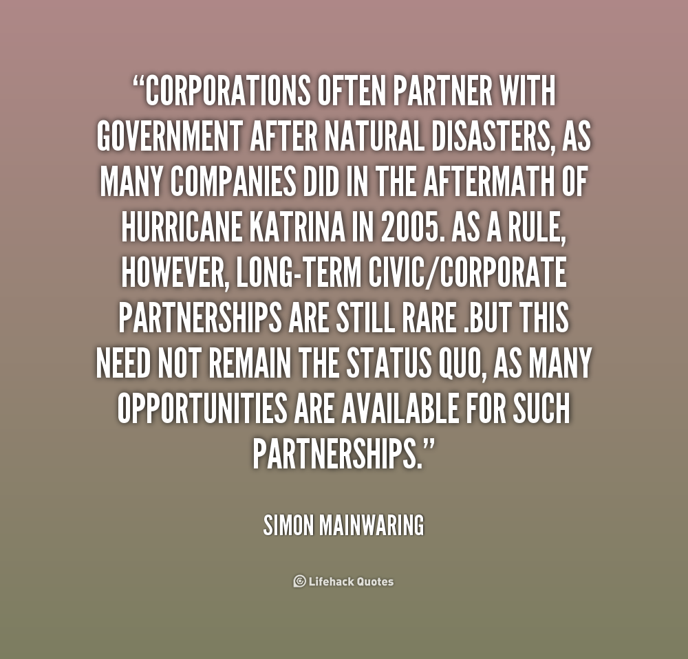 Quotes About Disaster. QuotesGram