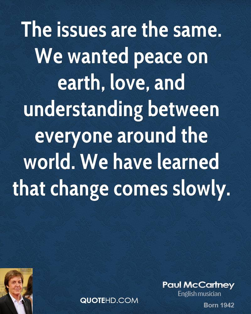 Peace On Earth Quotes. QuotesGram