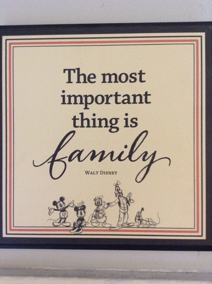 walt disney quotes about family quotesgram