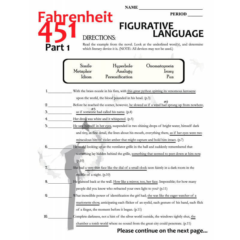 Fahrenheit 451 Part 3 Worksheet The Best and Most Comprehensive – Fahrenheit 451 Worksheets