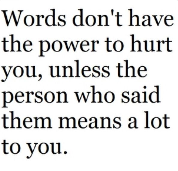 Quotes About Words That Hurt Quotesgram