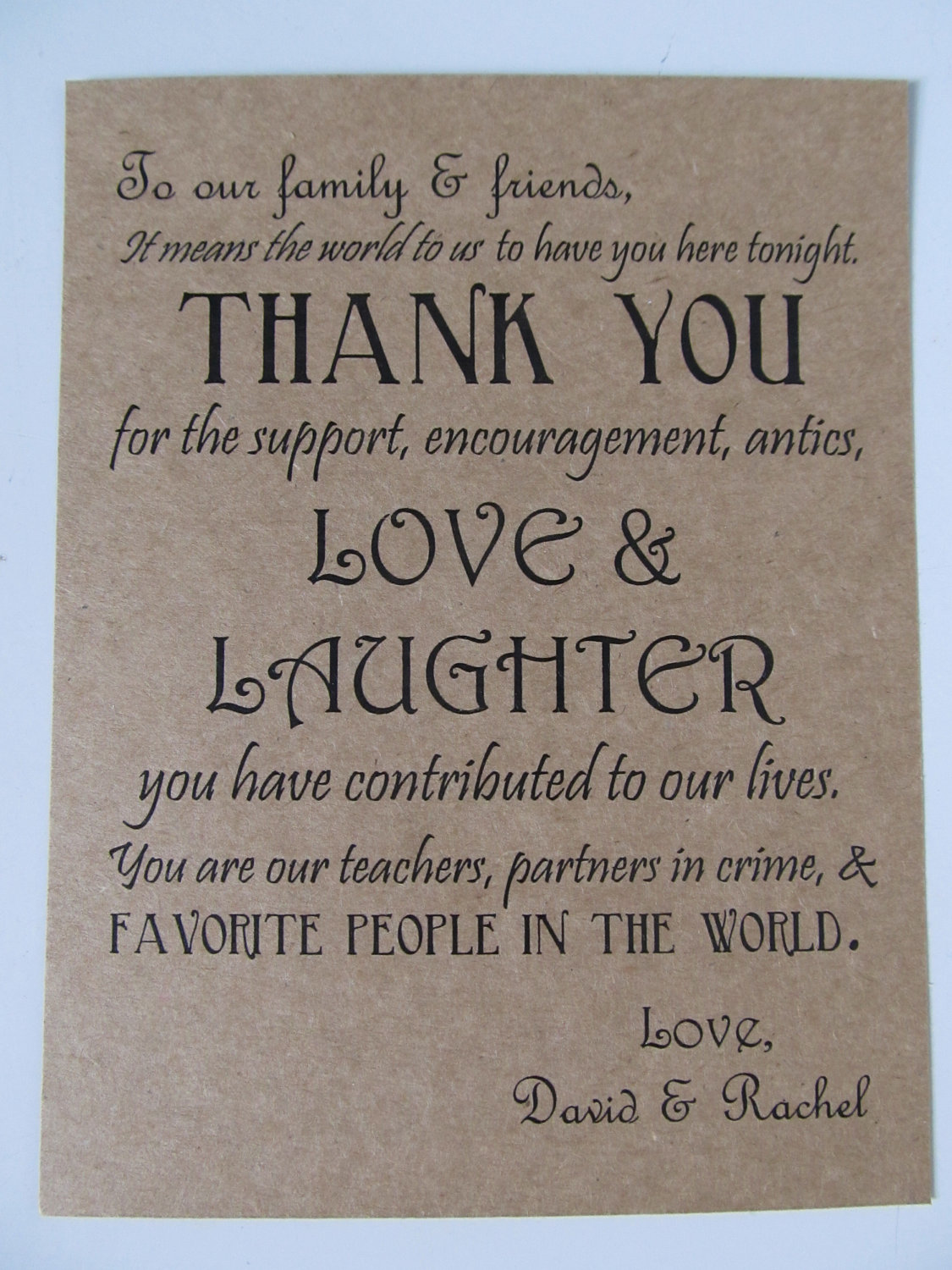 engagement thank you quotes quotesgram