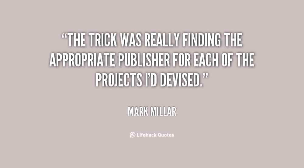 Mark Millar Quotes. QuotesGram