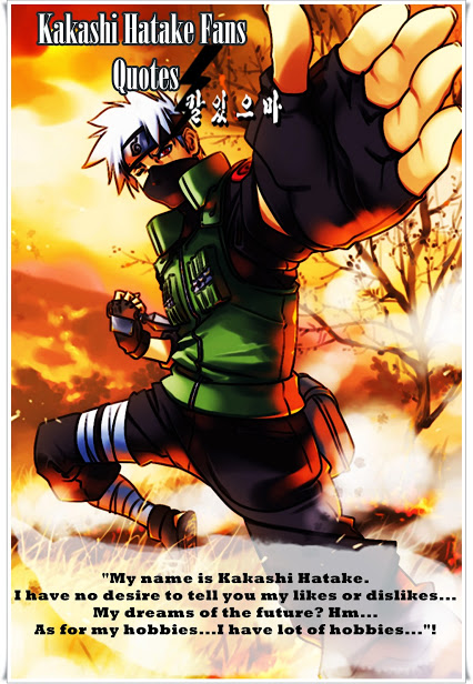 Kakashi Quotes And Sayings. QuotesGram