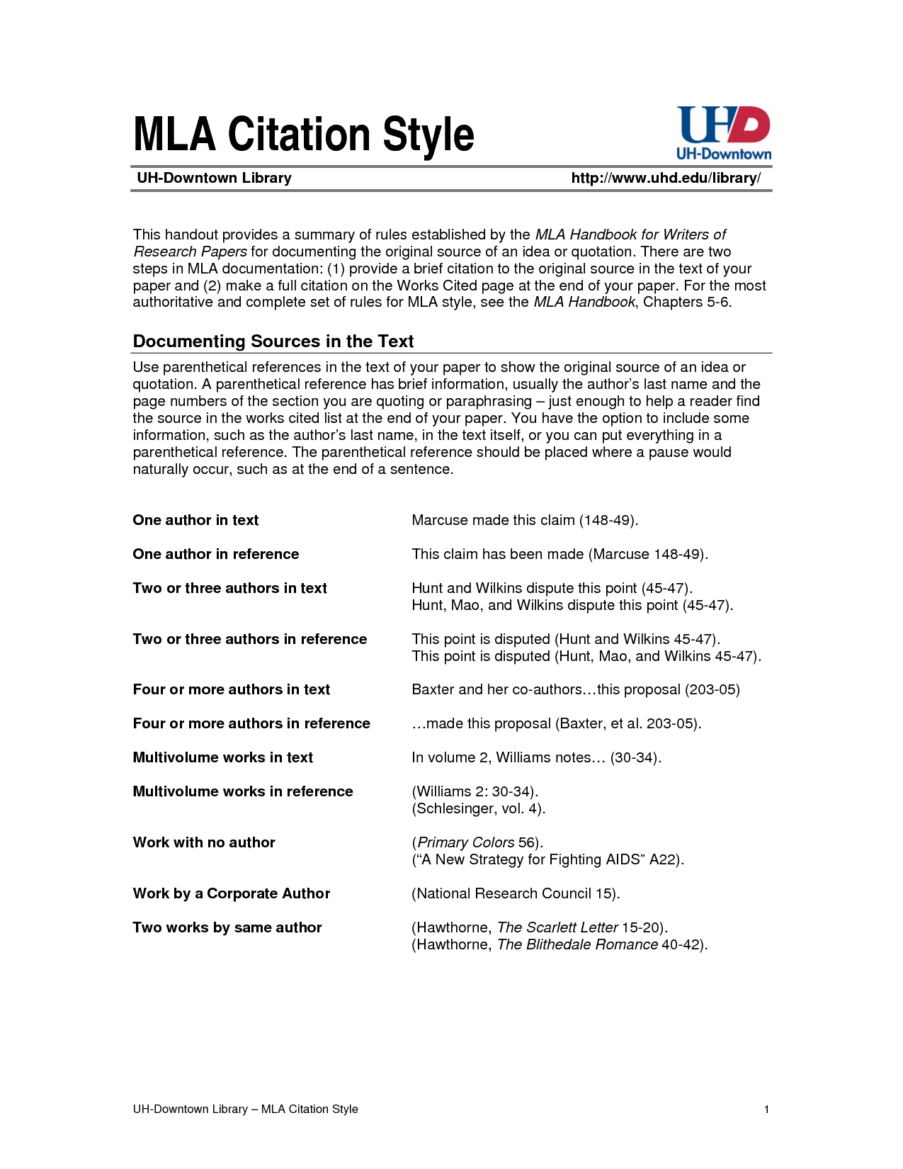 mla citation formate