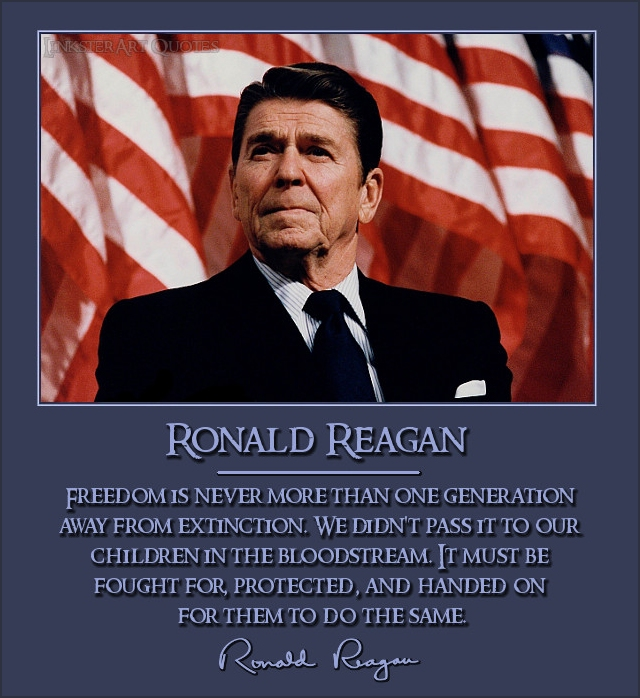 the leadership of ronald reagan Eleven years ago, june 5, 2004, ronald reagan left this world for the next in the days that followed, america witnessed sights unseen since the death of john f kennedy — people keeping all-night vigils to touch his casket and say goodbye, lining.