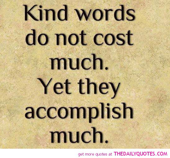 Thank You For The Kind Words Quotes: 6 Word Quotes About Life. QuotesGram