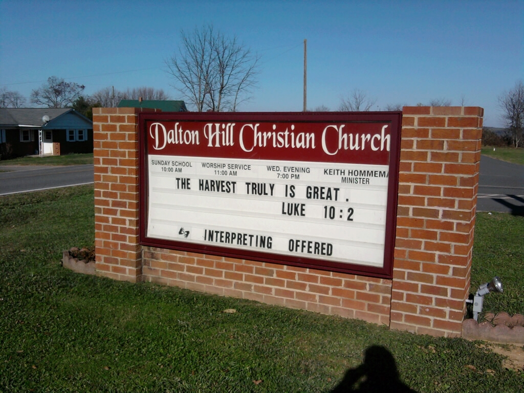 Little Church Sign Quotes. QuotesGram