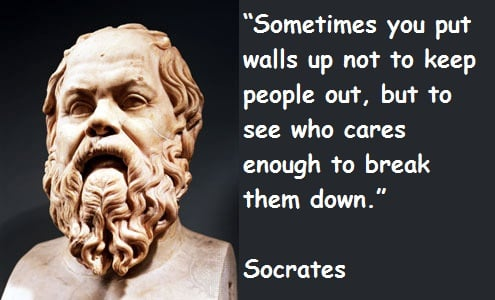 the authenticity of socrates through his moral wisdom Where one must confess their sins before they can be pure and have virtue i am not sure that socrates would  to the moral virtue of  virtue of wisdom.